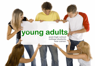 There adult age group